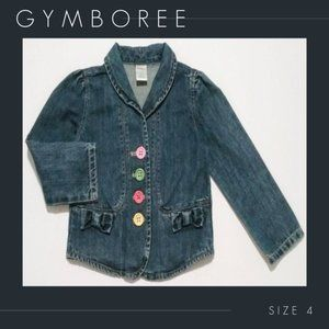 Gymboree Denim Jean Jacket Blazer